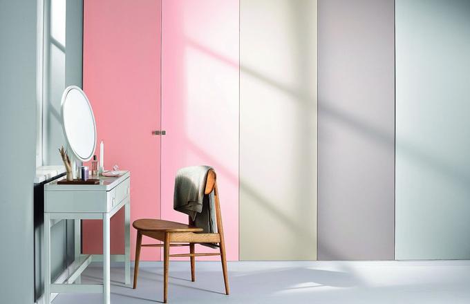 Dodatki do mieszkania w kolorach pastelowych