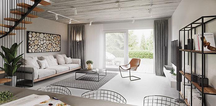 Mieszkania w stylu skandynawskim - nowoczesność i technologia