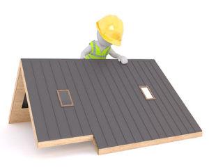 Pokrycie dachu blachą trapezową