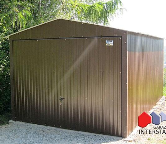 garaż blaszany Garaże Interstal