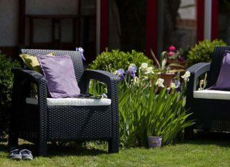 Nieco przytulności, czyli do czego można zastosować tkaniny w modnych ogrodach