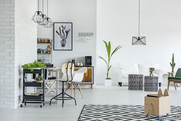 Dom w duchu skandynawskiego minimalizmu