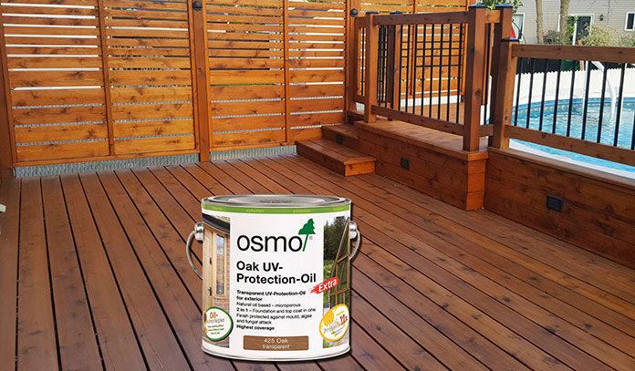 Oleje do drewna OSMO