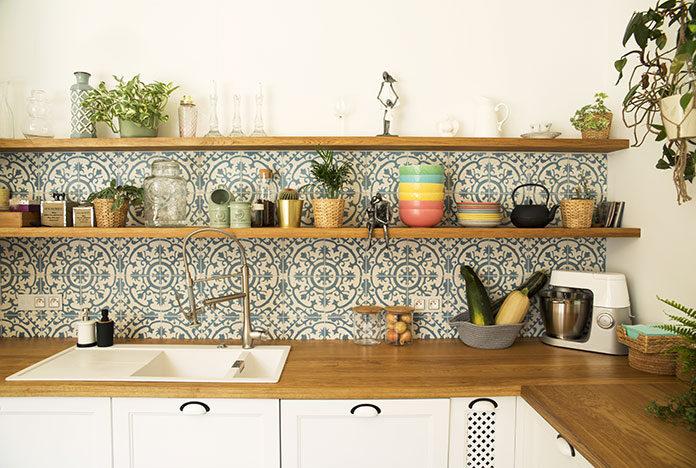 Dekoracja ścian kuchni